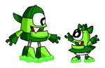 Mixels - Booger and Snotrina