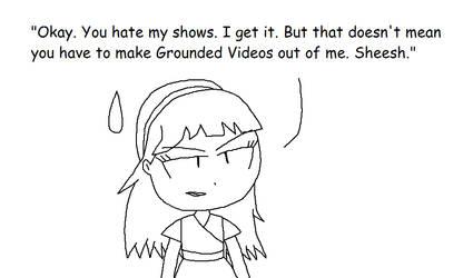Dora is irritated...
