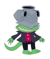 SHNTExFNAF - Animatronic Techno Baron