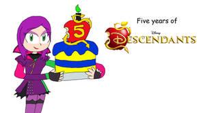 Five years of Descendants