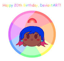Happy 20th Birthday, DeviantART!