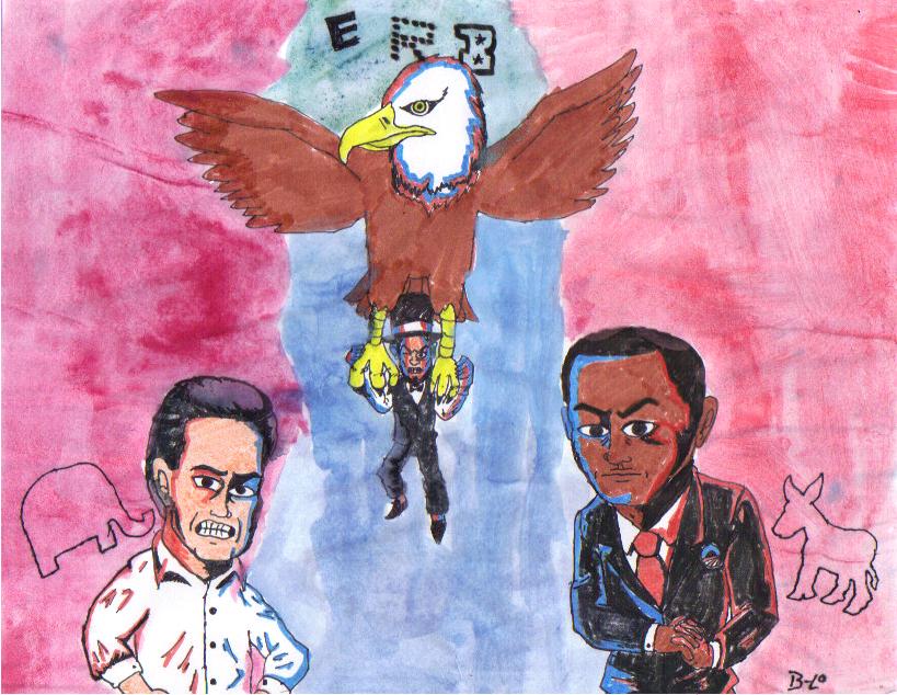 ERB Mitt Romney VS Barack Obama feat. Abe Lincoln by B-Lo-Lorbes