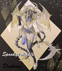 DRAKONY: SHINZA AUCTION (OPEN) by spookysprinkle
