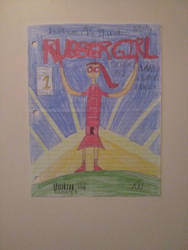 Rubber girl cover art issue #1