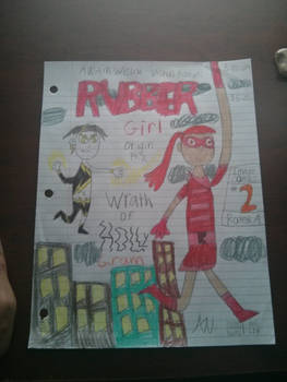 Rubber girl cover atr issue #2