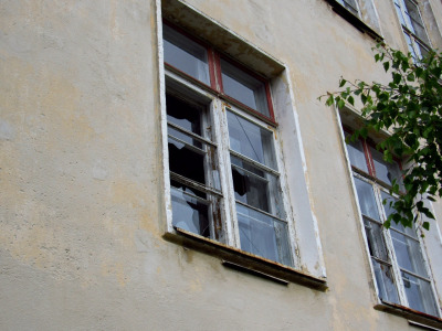 Broken window of hopes and dreams by ra-zor-blade