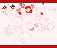 BXP doodles by Elixirmy