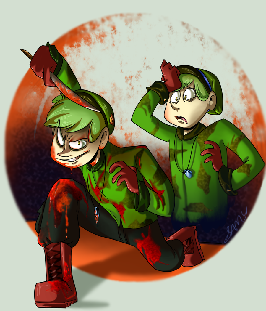 Flippy and Evil favourites by mkb-lover on DeviantArt