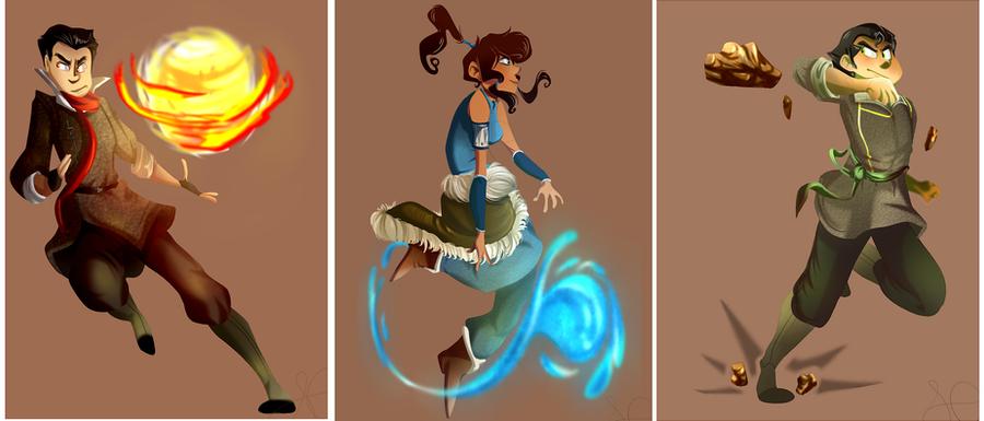 The Fire Ferrets by Elixirmy