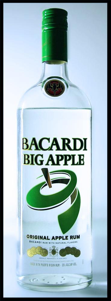 Bacardi Big Apple Pruduct Shot by Photokon on deviantART