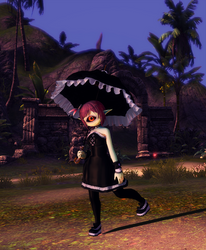 A Gothic Lolita with No Name