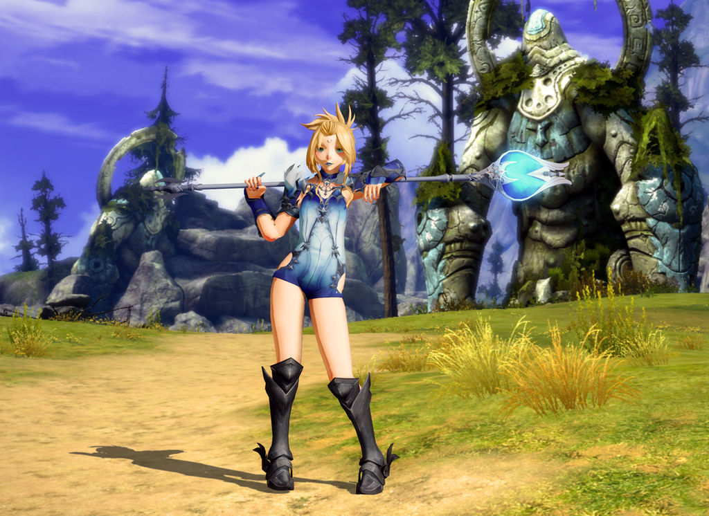 MMD  Project: TERA -  Lizzie The Healer -DOWNLOAD-
