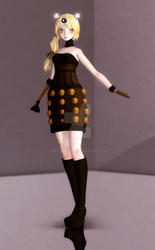 MMD - Lizzie Dalek