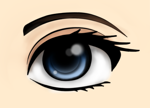 Eye my first paint tool sai work by spirit of origin on deviantart eye my first paint tool sai work by spirit of origin ccuart Images
