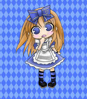 Chibi Alice in the Country of Hearts by MinnieMe122