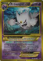 Shiny Mega Gengar Ex card by Metoro