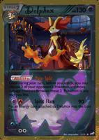 Delphox card - Halloween Set by Metoro