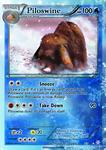Piloswine card - Christmas Mini Set