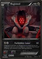 Legendary Registeel card - LM 34/34 by Metoro