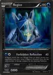 Legendary Regice card - LM 32/34