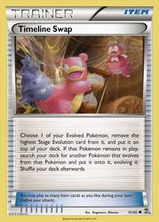 Timeline Swap card - RO 55/65