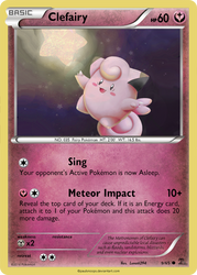 Clefairy card - RO 9/65