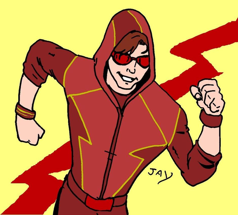 Smallville's Bart Allen doodle by Jasontodd1fan