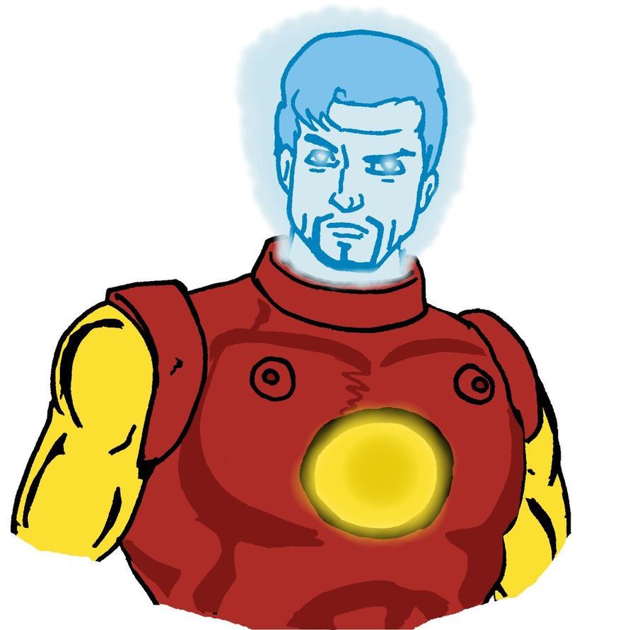 Tony Stark's A.I. Doodle by Jasontodd1fan