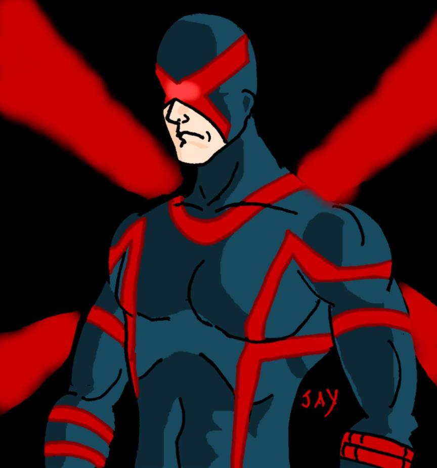 Scott Summers aka Cyclops by Jasontodd1fan