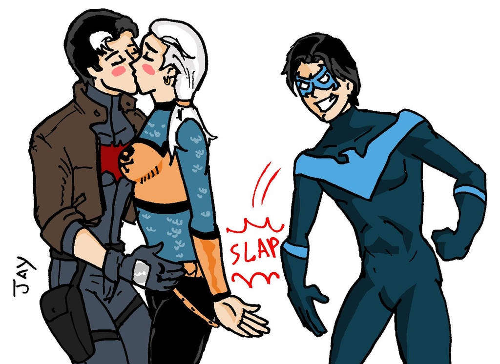 Jason Todd And Rose Wilson With Nightwing By Jasontodd1fan On Deviantart
