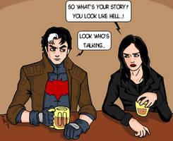 Jason Todd meets Jessica Jones by Jasontodd1fan