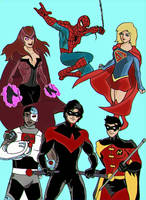 NicWaterfill team of Titans by Jasontodd1fan