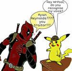 Deadpool meets Pikachu