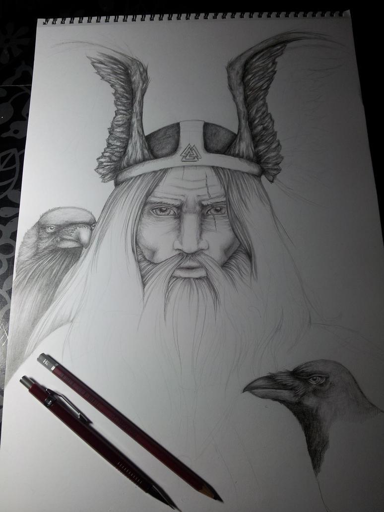 Odin (W.I.P.) by Sylthuria
