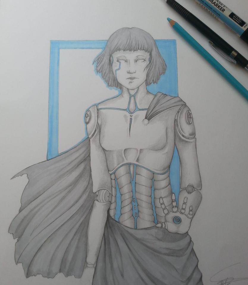 Cyborg by Sylthuria