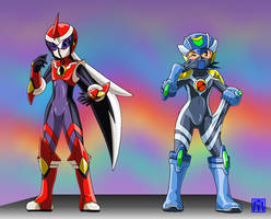 Living Suit of CF MegaMan and ProtoMan 2 by sinrin8210