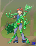 Living Suit of Sceptile 1