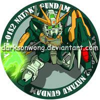 Gundam NATAKU by darksonwong