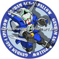 Gundam AGE-1  SPALLOW by darksonwong