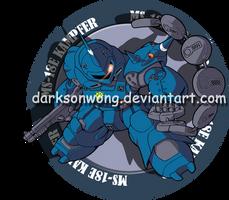 MS-18E Kampfer by darksonwong