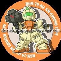 RGM-79 (G) GM GROUND TYPE by darksonwong