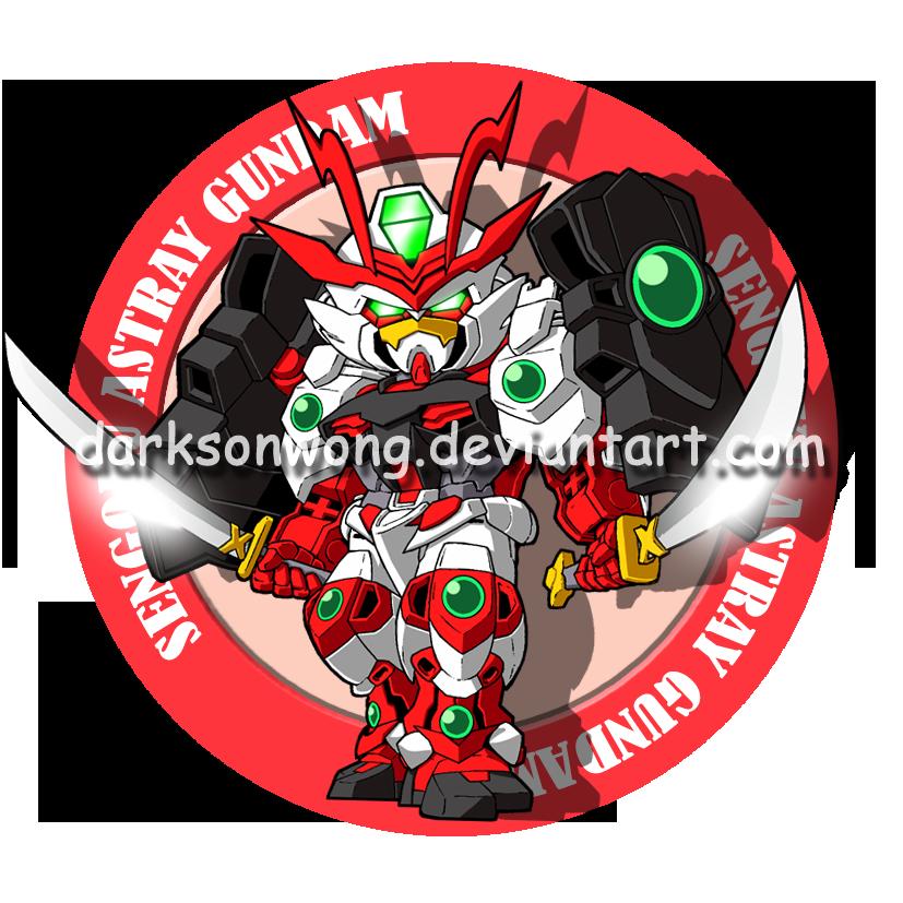 Sengoku Astray Gundam by darksonwong