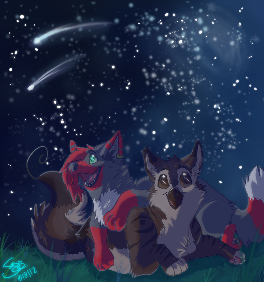 Stary sky by PenguinEatsCarrots