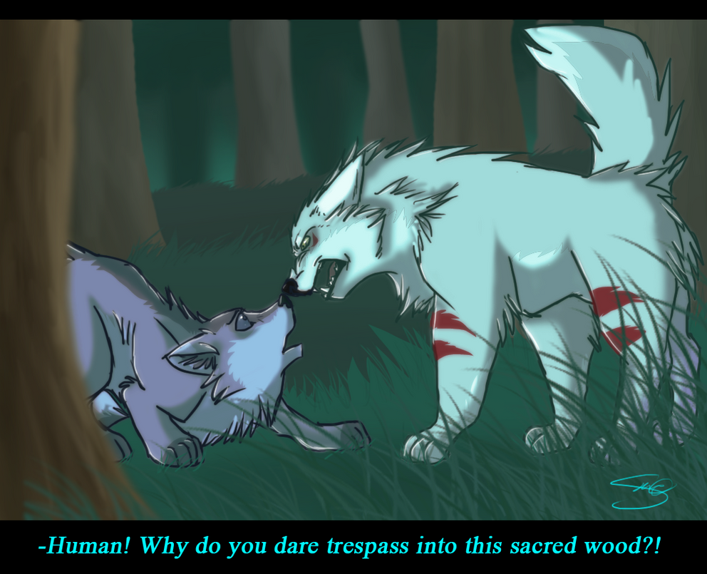 Sacred wood by PenguinEatsCarrots