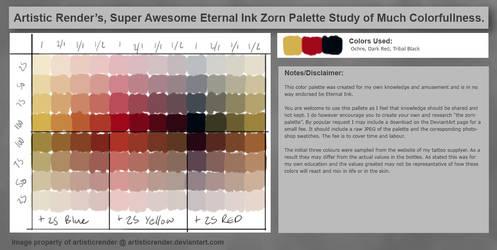 Eternal Ink Zorn Palette (ARSAEIZPSMC)
