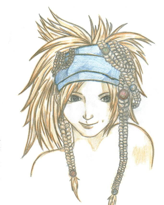 Rikku colored by THEGODSLAYER91