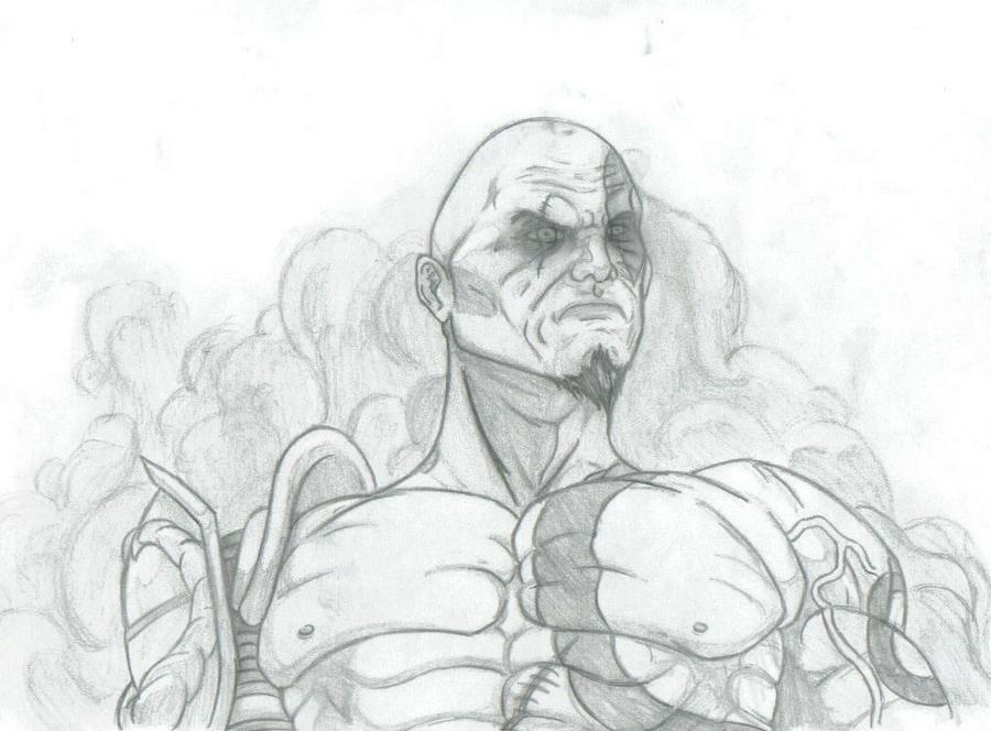 Kratos by THEGODSLAYER91