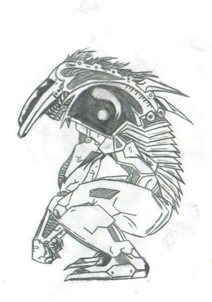 robot monster by THEGODSLAYER91