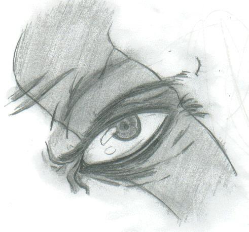 Kratos's eye by THEGODSLAYER91