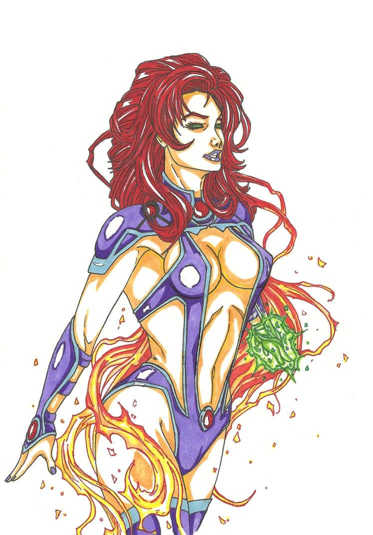 Starfire by THEGODSLAYER91